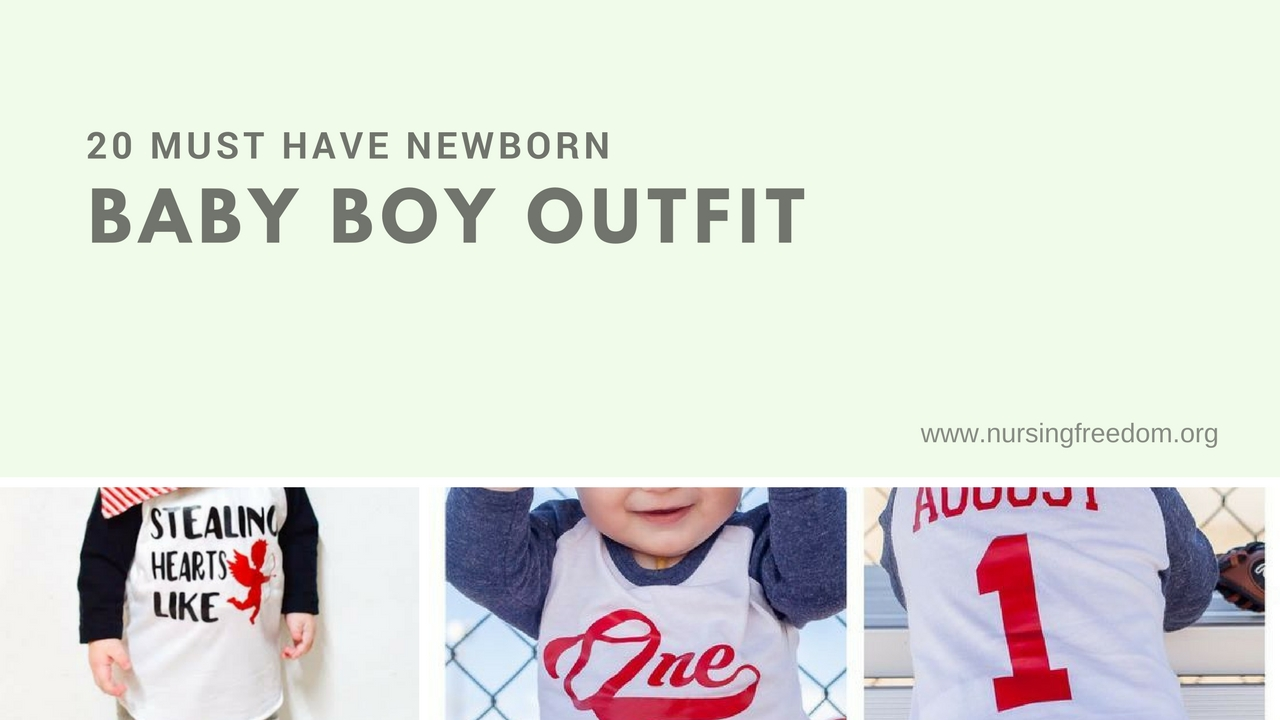 20 Must Have Newborn Baby Boy Outfit