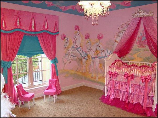 Princess Theme Baby Nursery Decorating